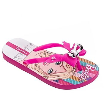 Chinelo Ipanema Infantil Barbie Fashion Rosa Rouge