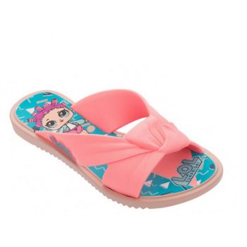 Rasteira Infantil Lol Surprise Fever Rosa Azul