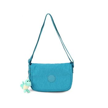Bolsa Feminina Chaveiro Transversal Verde Up4you