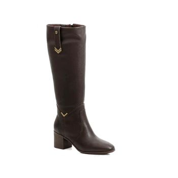 Bota Montaria Dark Brown Couro Bottero