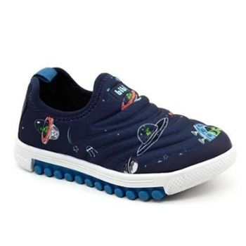 Tênis Infantil Estampado Space New Roller Bibi
