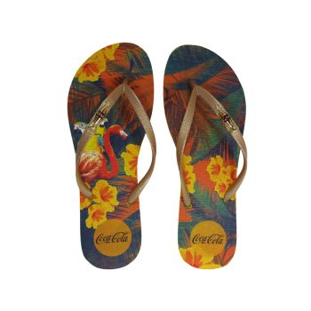 Chinelo Feminino Summer Tropical Coca Cola