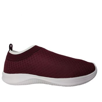Tênis Feminino Slip On Bordo Nathyelle