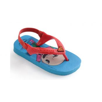 Chinelo Baby Horóis Super Man Havaianas